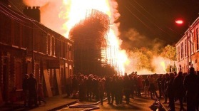 Chobham Street Bonfire, nearby houses boarded up (bbc.co.uk)